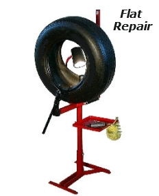 Flat Tire Repairs, Plug Patches, Patches