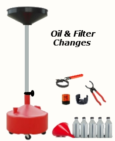 Lube, Oil & Filter Changes