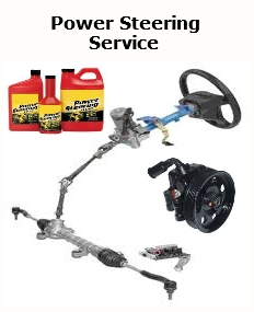 Power Steering, Rack & Pinion, Fluid Flush, Power Steering Pump Replacement